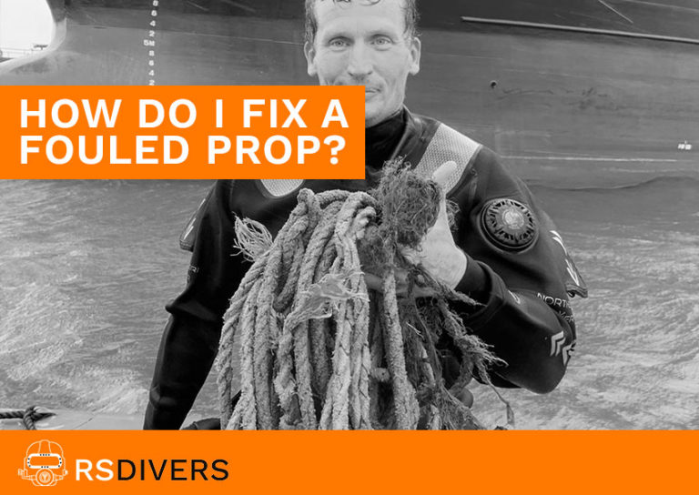 how to fix a fouled propeller